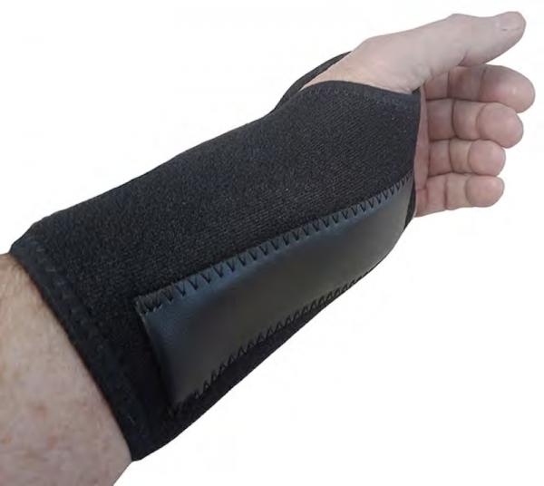Wrist brace and wrist split support